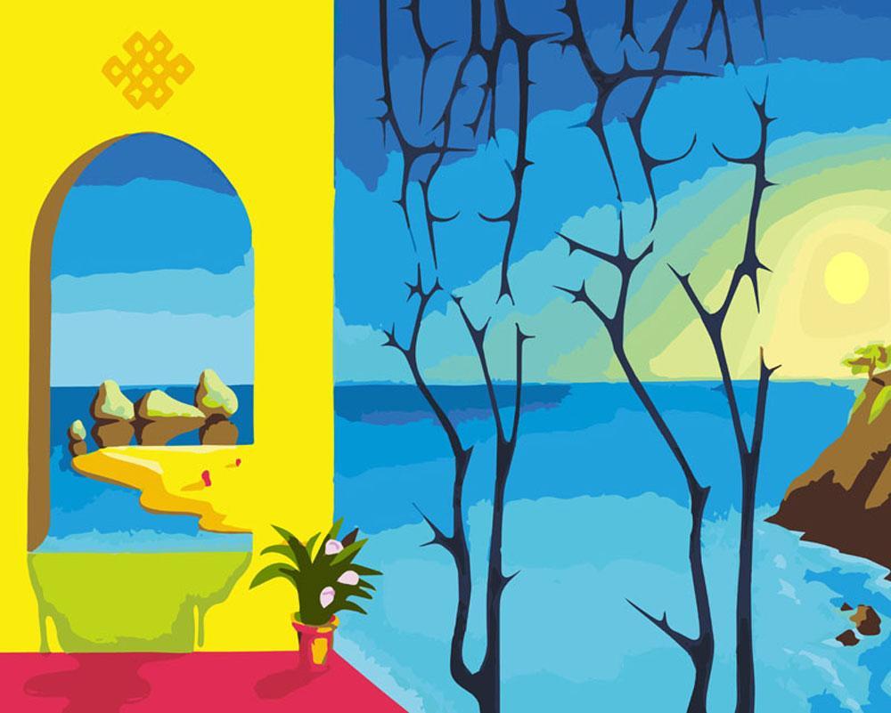 «Проходной двор»Картины по номерам Белоснежка<br><br><br>Артикул: 830-AB<br>Основа: Холст<br>Сложность: сложные<br>Размер: 40x50 см<br>Количество цветов: 35<br>Техника рисования: Без смешивания красок
