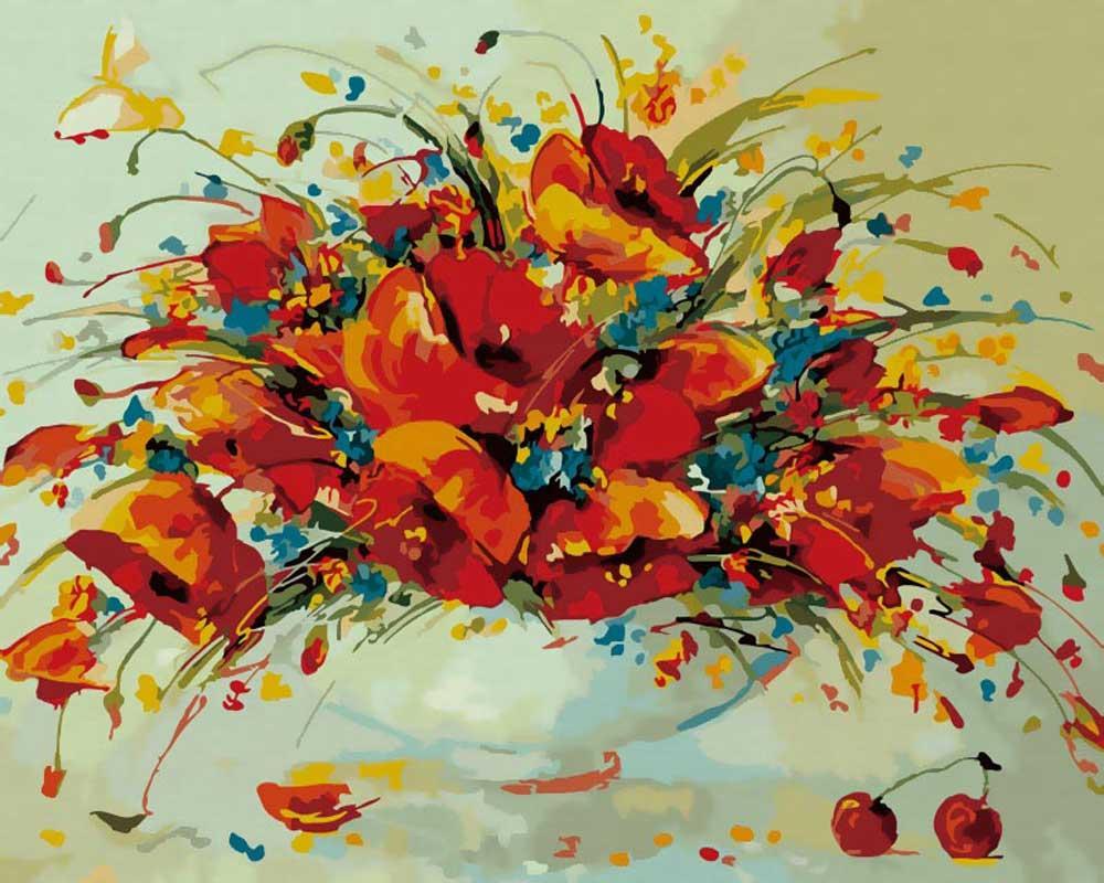 «Весенний вальс»Картины по номерам Белоснежка<br><br><br>Артикул: 832-AB<br>Основа: Холст<br>Сложность: средние<br>Размер: 40x50 см<br>Количество цветов: 20<br>Техника рисования: Без смешивания красок