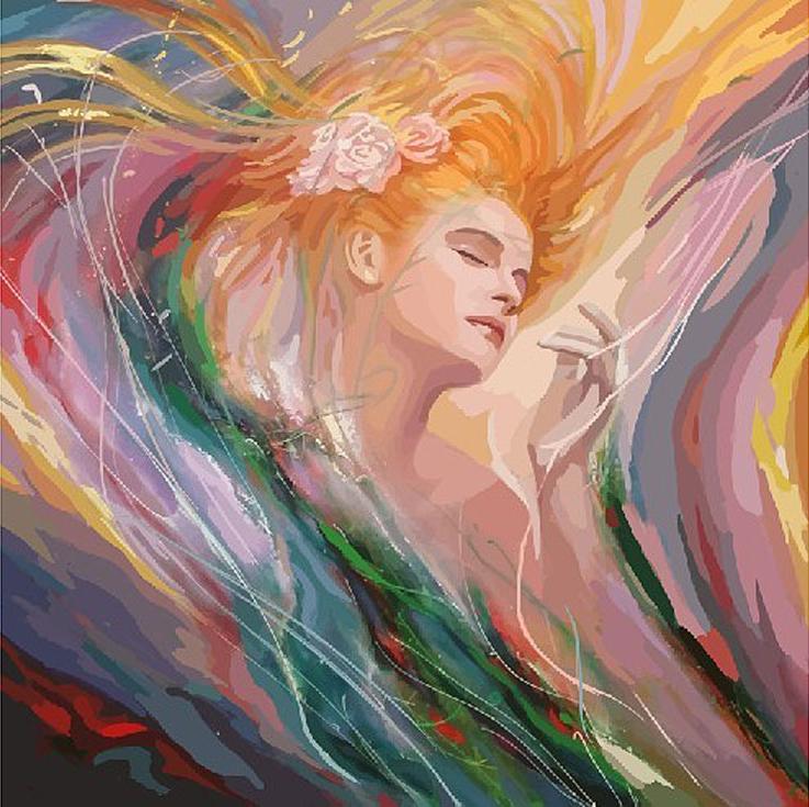 «Необузданная красота»Картины по номерам Белоснежка<br><br><br>Артикул: 853-AB<br>Основа: Холст<br>Сложность: сложные<br>Размер: 40x50 см<br>Количество цветов: 30<br>Техника рисования: Без смешивания красок