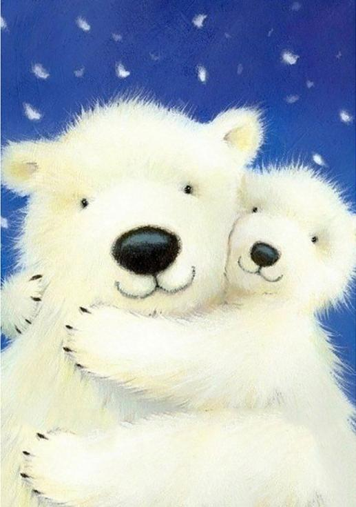 Алмазная вышивка «Белые медведи»Алмазная вышивка<br><br>