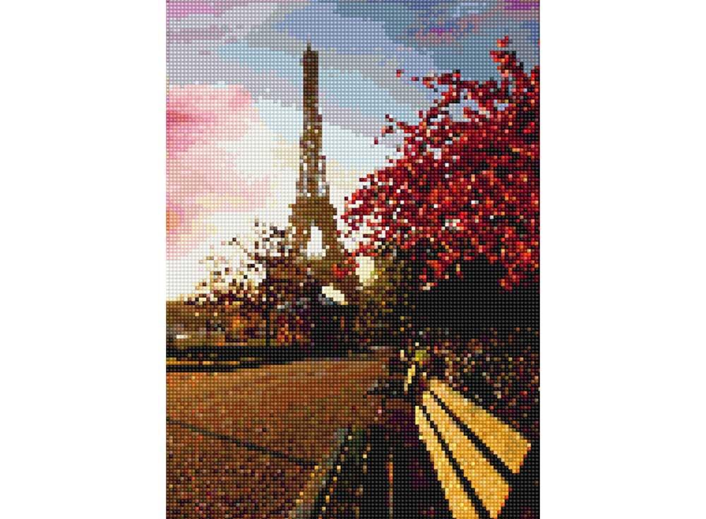Алмазная вышивка «Прогулка по Парижу»Цветной<br>Обновленная серия алмазной мозаики от бренда Цветной - это яркие популярные сюжеты и расширенная комплектация качественными составляющими. <br><br><br>Особенности алмазной вышивки от Цветной:<br><br>тканевый холст имеет ярко выраженную приятную на ощупь бархатисту...<br><br>Артикул: D602<br>Основа: Холст на подрамнике<br>Сложность: средние<br>Размер: 30x40 см<br>Выкладка: Полная<br>Количество цветов: 20-35<br>Тип страз: Круглые непрозрачные (акриловые)