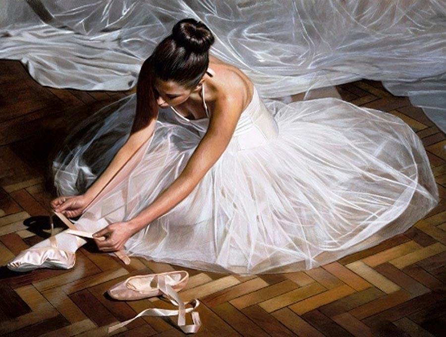 Алмазная вышивка «Юная балерина»