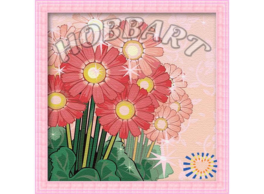 Картина по номерам «Сияние росы»Hobbart<br><br><br>Артикул: HB3030025<br>Основа: Холст<br>Сложность: очень сложные<br>Размер: 30x30 см<br>Количество цветов: 24<br>Техника рисования: Без смешивания красок