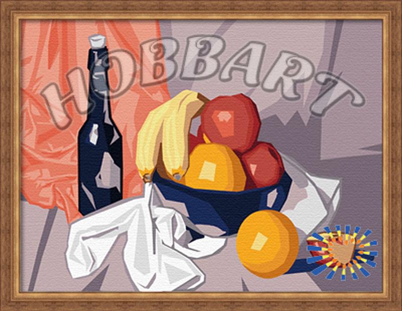 Картина по номерам «Натюрморты. Фруктовая»Hobbart<br><br><br>Артикул: HB3040001<br>Основа: Холст<br>Сложность: средние<br>Размер: 30x40 см<br>Количество цветов: 24<br>Техника рисования: Без смешивания красок