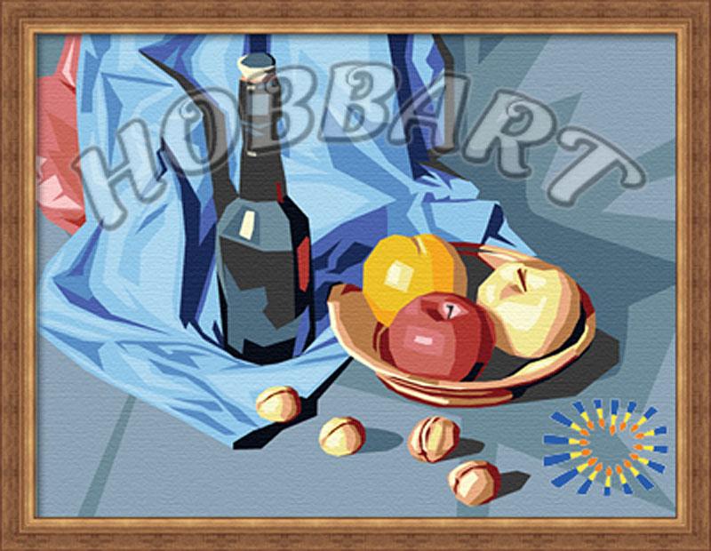 «Натюрморты. Апперетив»Hobbart<br><br><br>Артикул: HB3040003<br>Основа: Холст<br>Сложность: средние<br>Размер: 30x40 см<br>Количество цветов: 21<br>Техника рисования: Без смешивания красок