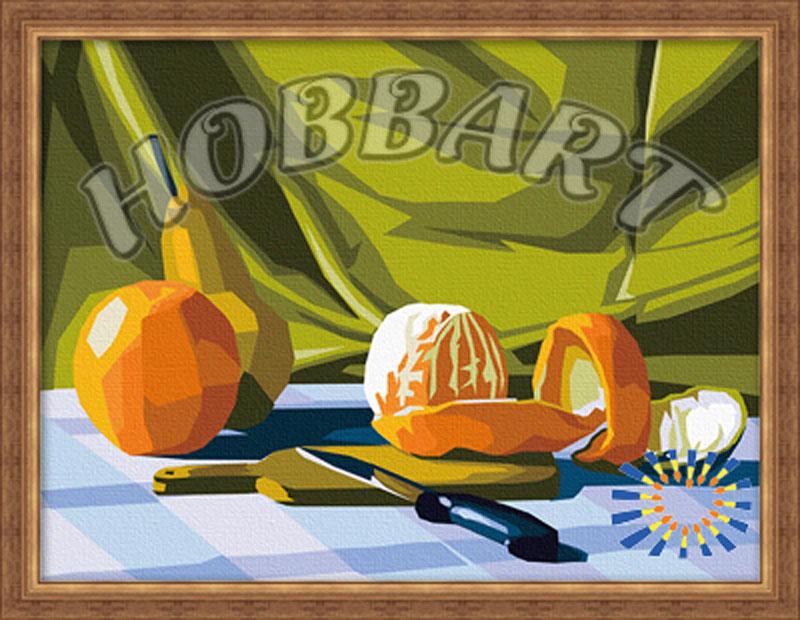 «Натюрморты. Апельсиновая»Hobbart<br><br><br>Артикул: HB3040004<br>Основа: Холст<br>Сложность: средние<br>Размер: 30x40 см<br>Количество цветов: 23<br>Техника рисования: Без смешивания красок