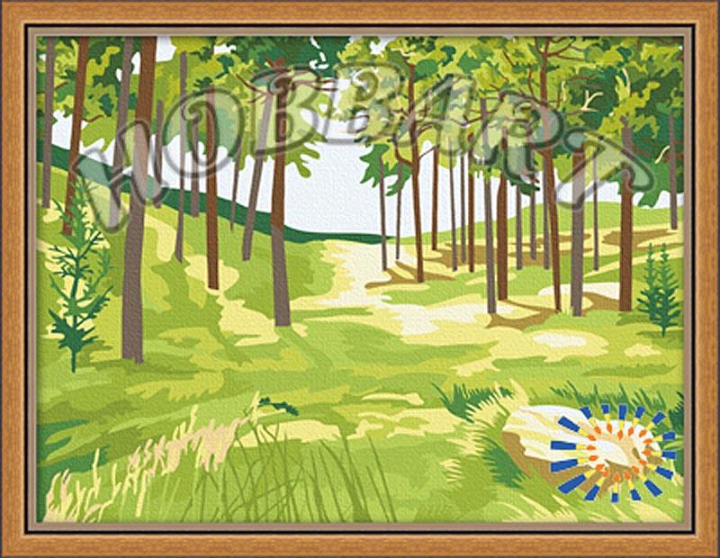 «Весеннее пробуждение»Hobbart<br><br><br>Артикул: HB3040036<br>Основа: Холст<br>Сложность: средние<br>Размер: 30x40 см<br>Количество цветов: 17<br>Техника рисования: Без смешивания красок