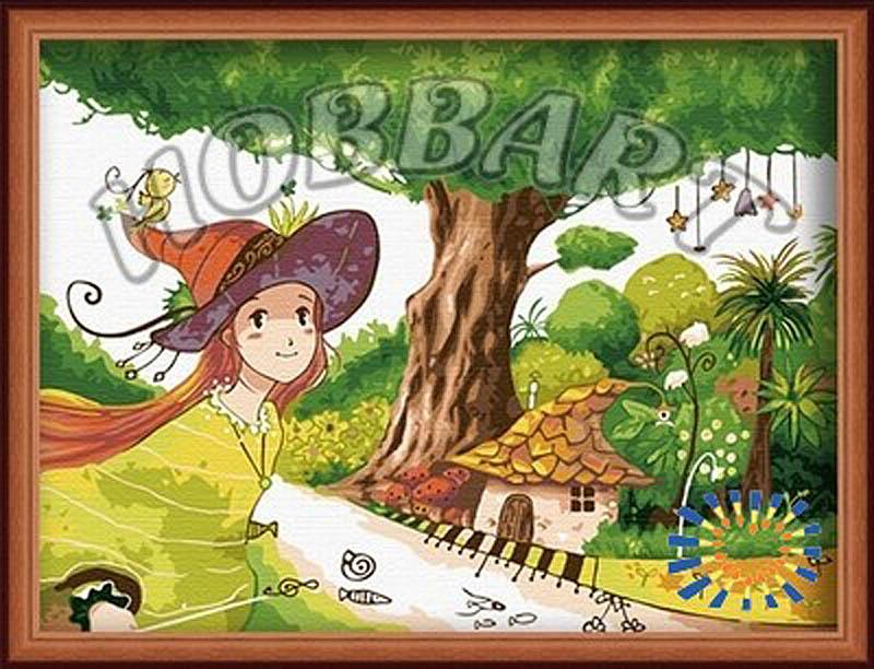 Картина по номерам «Элли»Hobbart<br><br><br>Артикул: HB3040041<br>Основа: Холст<br>Сложность: сложные<br>Размер: 30x40 см<br>Количество цветов: 25<br>Техника рисования: Без смешивания красок
