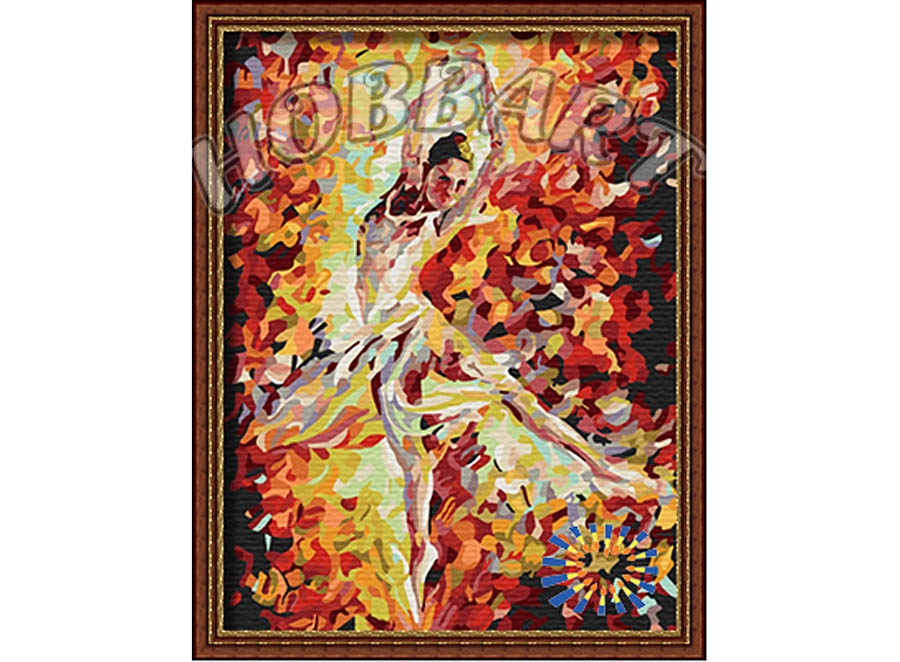 «Балерина» Леонида АфремоваHobbart<br><br><br>Артикул: HB3040088<br>Основа: Холст<br>Сложность: легкие<br>Размер: 30x40<br>Количество цветов: 25<br>Техника рисования: Без смешивания красок