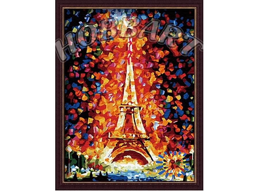 «Эйфелева башня» Леонида АфремоваHobbart<br><br><br>Артикул: HB3040089<br>Основа: Холст<br>Сложность: сложные<br>Размер: 30x40 см<br>Количество цветов: 25<br>Техника рисования: Без смешивания красок