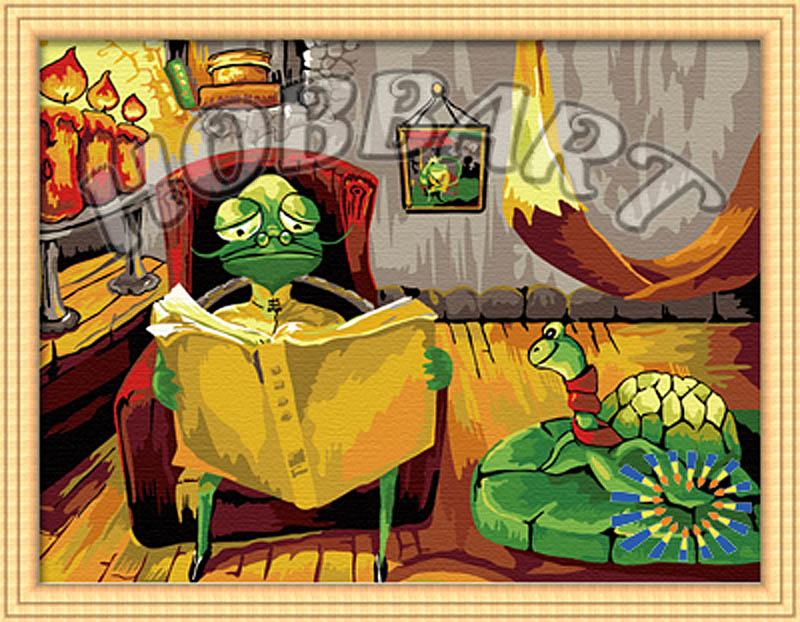 «Рассказы старой черепахи»Hobbart<br><br><br>Артикул: HB3040103<br>Основа: Холст<br>Сложность: средние<br>Размер: 30x40 см<br>Количество цветов: 25<br>Техника рисования: Без смешивания красок