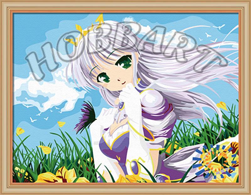 Картина по номерам «Принцесса»Hobbart<br><br><br>Артикул: HB3040105<br>Основа: Холст<br>Сложность: сложные<br>Размер: 30x40 см<br>Количество цветов: 25<br>Техника рисования: Без смешивания красок
