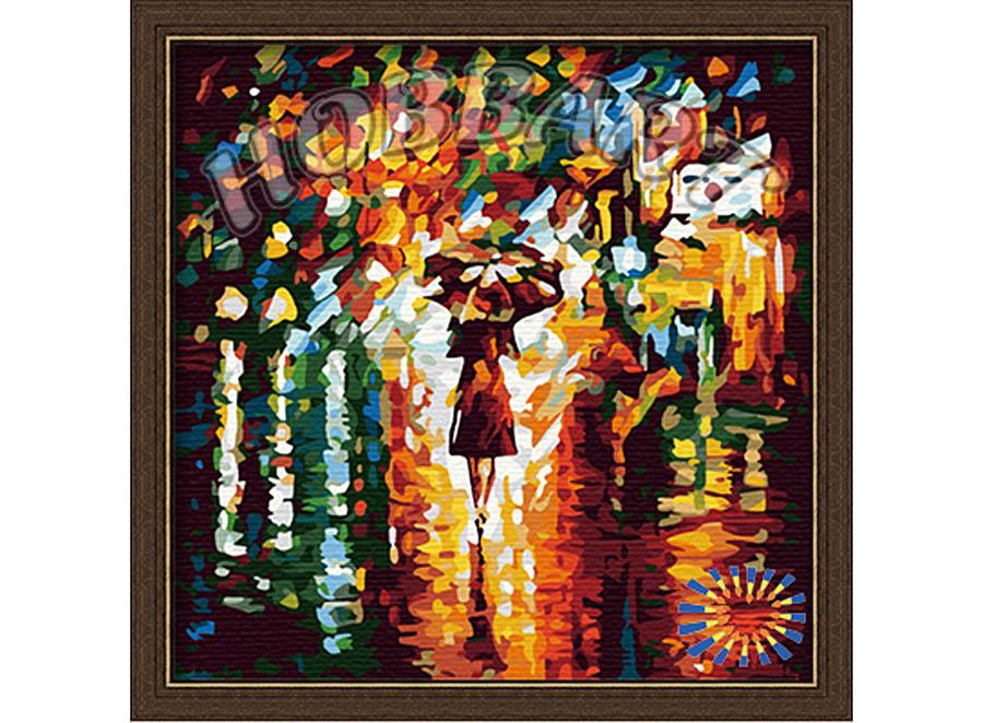 «В дождь» Леонида АфремоваHobbart<br><br><br>Артикул: HB4040023<br>Основа: Холст<br>Сложность: сложные<br>Размер: 40x40 см<br>Количество цветов: 25<br>Техника рисования: Без смешивания красок