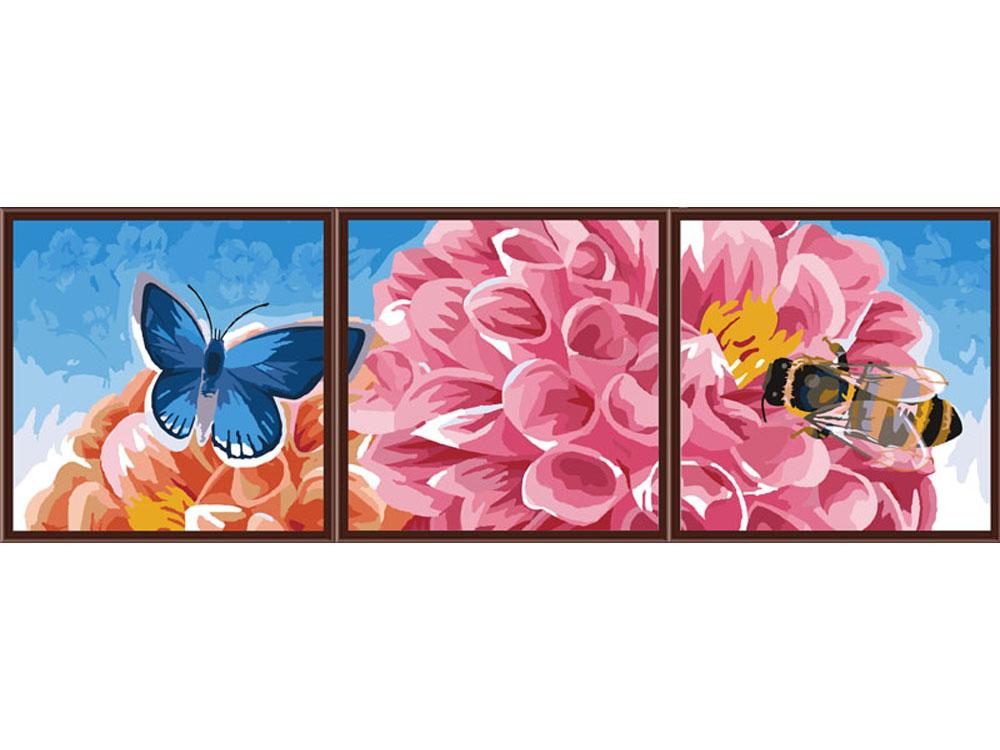 Картина по номерам «Медовый урожай»Раскраски по номерам Color Kit<br><br><br>Артикул: P077<br>Основа: Холст<br>Сложность: сложные<br>Размер: 3 шт. 50x50 см<br>Количество цветов: 25<br>Техника рисования: Без смешивания красок