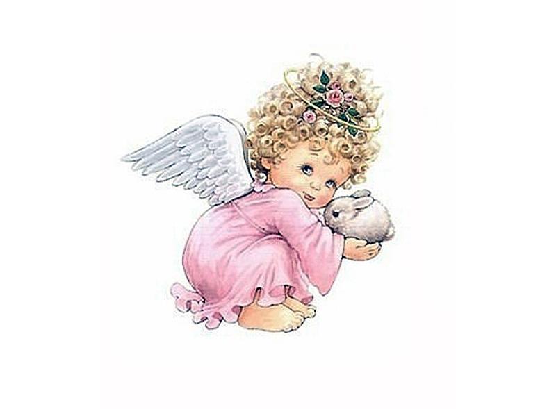 Папертоль «Ангел в розовом»