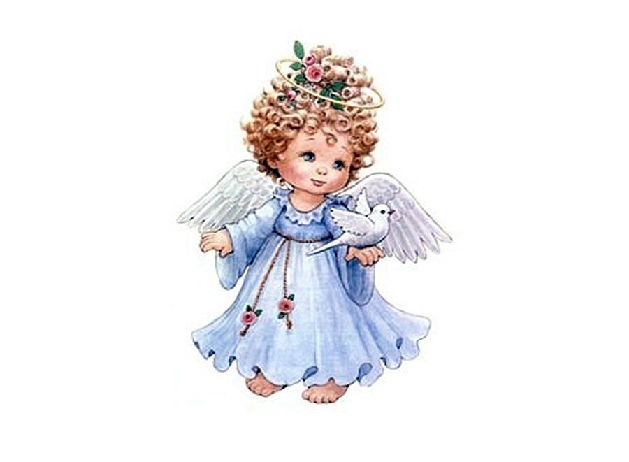 Папертоль «Ангел в голубом»