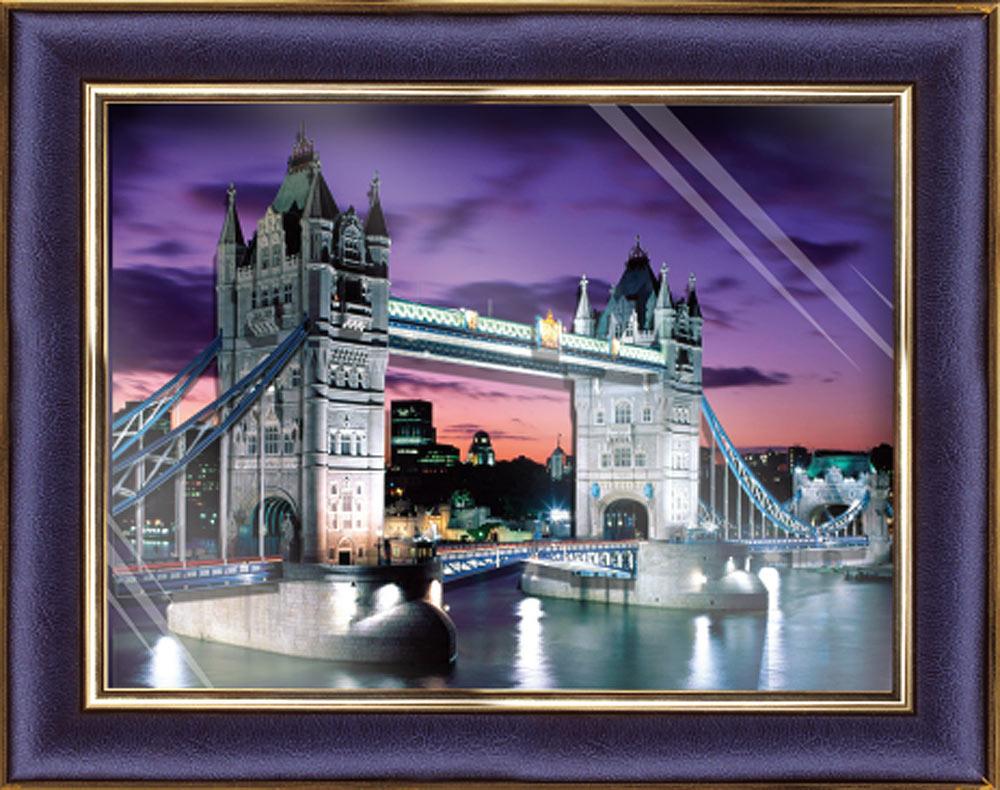 """Объемная картина «Лондонский мост»Объемные картины Vizzle (Виззл)<br>Объемная картина Vizzle - хобби-набор для творческого досуга в любом возрасте. Комплектация набора предусматривает все, что необходимо для получения полностью завершенной картины:<br><br>- высококачественный картон с уже """"вырубленными"""" деталями (их нужно просто...<br><br>Артикул: С0208<br>Основа: Картон<br>Размер: 29,5x35,8 см"""