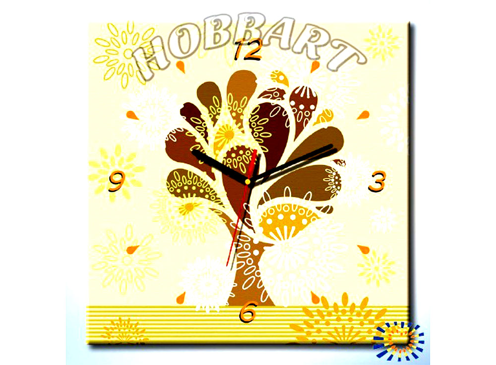 Раскраска-часы «Древо жизненной силы»Часы-раскраски по номерам<br><br><br>Артикул: SH4040001<br>Основа: Холст<br>Размер: 40x40 см
