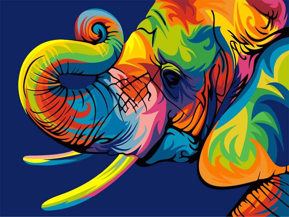 Стразы «Радужный слон» Ваю РомдониАлмазная вышивка Гранни<br><br><br>Артикул: AG482<br>Основа: Холст без подрамника<br>Сложность: средние<br>Размер: 27x38 см<br>Выкладка: Полная<br>Количество цветов: 30<br>Тип страз: Квадратные