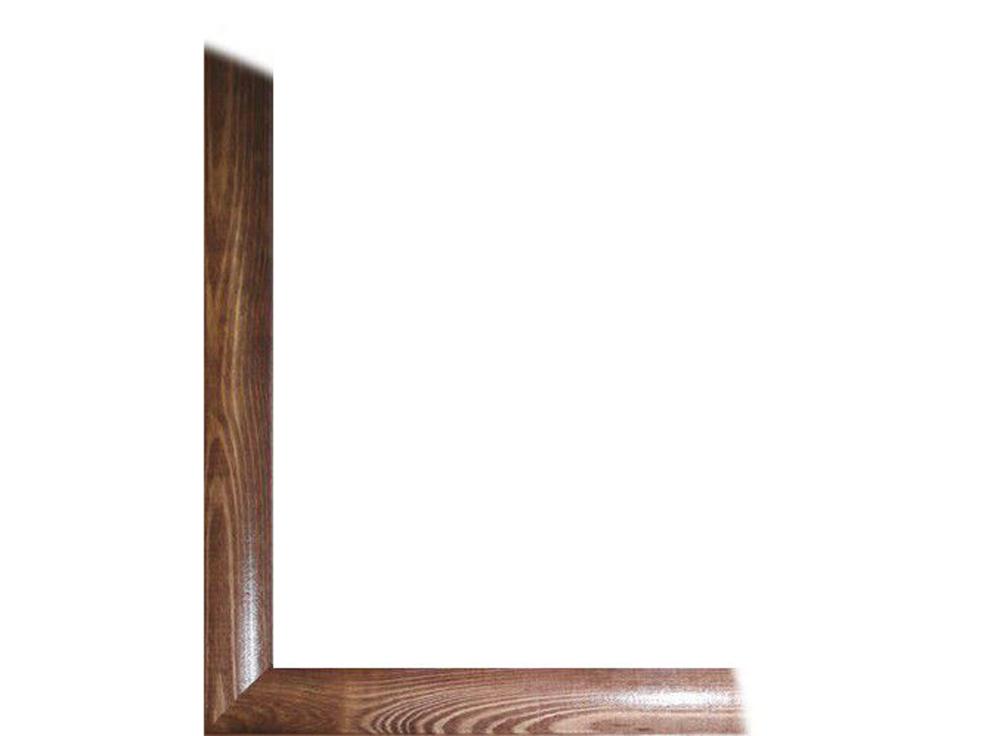 Рамка без стекла «Berta»Багетные рамки<br>Для картин на картоне. В комплект входит: рамка, задняя подложка, крючок-вешалка. Стекло в комплект не входит. При необходимости приобретайте стекло отдельно. Чтобы повесить работу большого размера на стену...<br>  убедитесь что вы надежно закрепили картину ...<br><br>Артикул: 0006-46-0006<br>Размер: 40x80 см<br>Цвет: Орех<br>Ширина: 26<br>Материал багета: Дерево