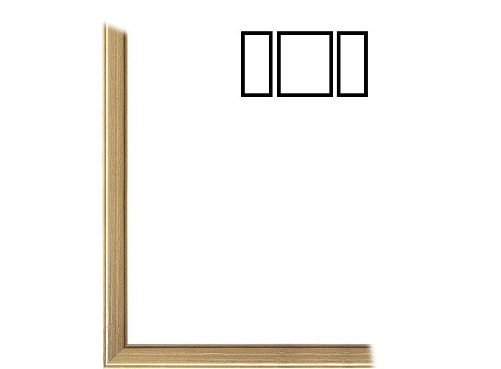Рамка без стекла для триптихов «Cristina»Багетные рамки<br>Для картин на картоне. Подходит для триптихов SCHIPPER 50х80 см<br><br>В комплект входит: рамка, задняя подложка, крючок-вешалка. Стекло в комплект не входит. При необходимости приобретайте стекло отдельно.<br><br>Артикул: 0008-61-2431<br>Размер: 50x80 см<br>Цвет: Золото<br>Ширина: 12<br>Материал багета: Дерево