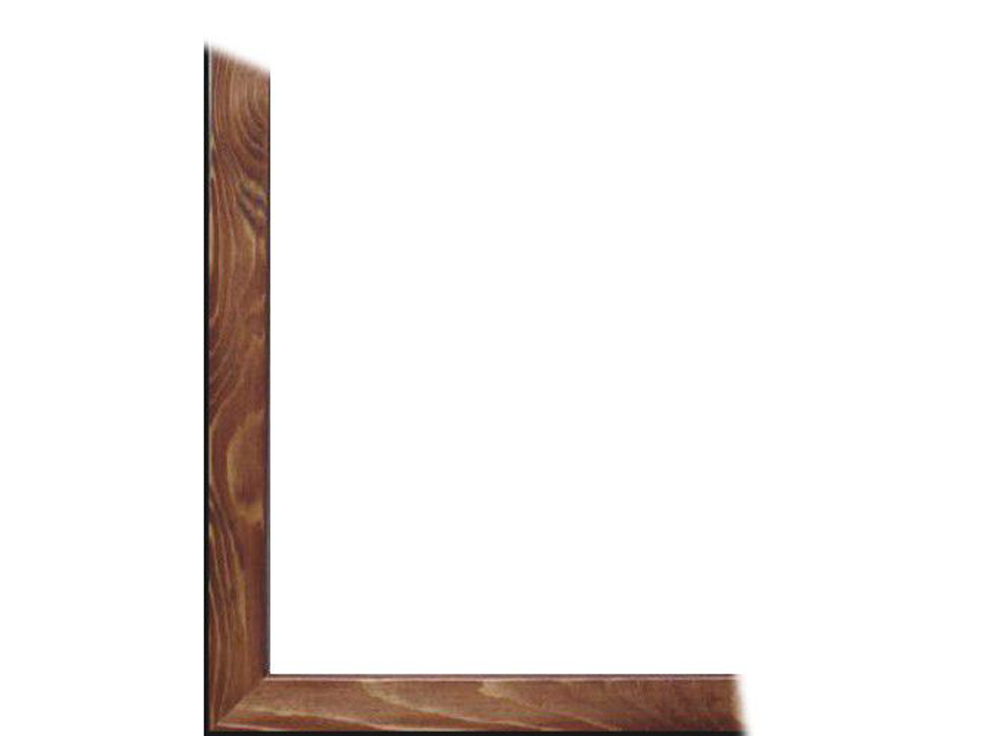 Рамка без стекла для картин «Sasha»Багетные рамки<br>Для картин на картоне. В комплект входит: рамка, задняя подложка, крючок-вешалка. Стекло в комплект не входит. При необходимости приобретайте стекло отдельно.<br><br>Артикул: 0011-7-0006<br>Размер: 18x24 см<br>Цвет: Орех<br>Ширина: 18<br>Материал багета: Дерево