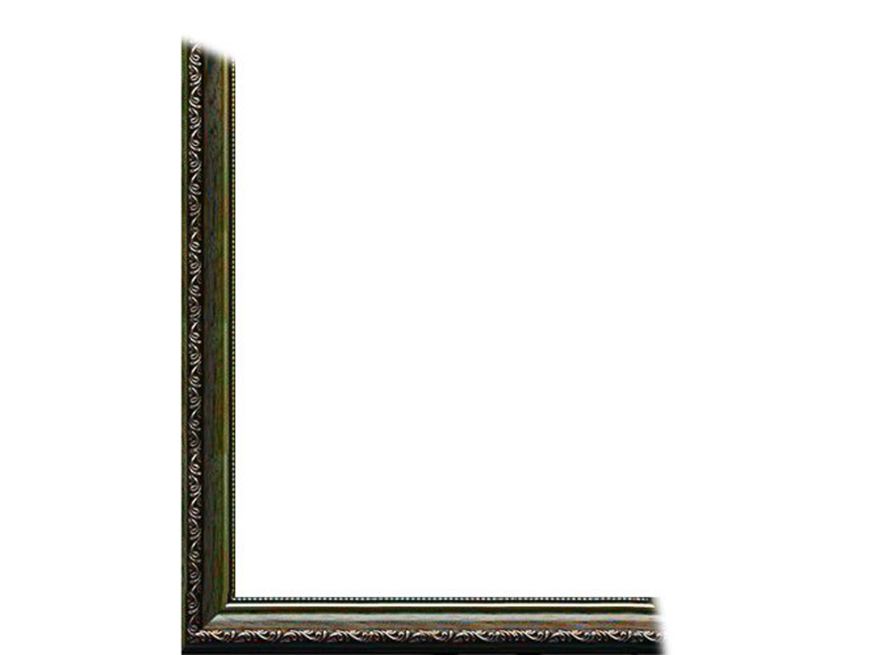 Рамка без стекла для картин «Dorothy»Багетные рамки<br>Для картин на картоне. В комплект входит: рамка, задняя подложка, крючок-вешалка. Стекло в комплект не входит. При необходимости приобретайте стекло отдельно.<br><br>Артикул: 0023-16-0725<br>Размер: 40x50 см<br>Цвет: Зеленый<br>Ширина: 34<br>Материал багета: Пластик