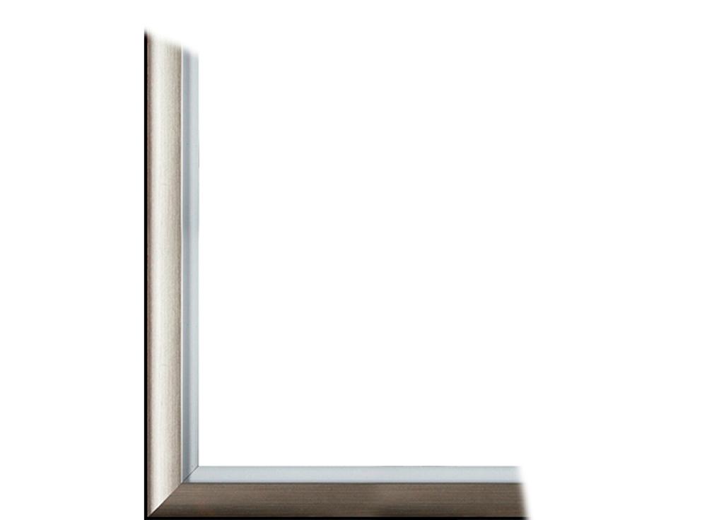 Рамка без стекла для картин «Gella»Багетные рамки<br>Для картин на картоне. В комплект входит: рамка, задняя подложка, крючок-вешалка. Стекло в комплект не входит. При необходимости приобретайте стекло отдельно.<br><br>Артикул: 0079-16-0548<br>Размер: 40x50 см<br>Цвет: Серебро<br>Ширина: 35<br>Материал багета: Пластик