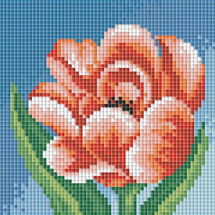 Стразы «Махровый тюльпан»Алмазная вышивка фирмы Белоснежка<br><br><br>Артикул: 046-ST<br>Основа: Холст без подрамника<br>Сложность: сложные<br>Размер: 15x15 см<br>Выкладка: Полная<br>Количество цветов: 15<br>Тип страз: Квадратные