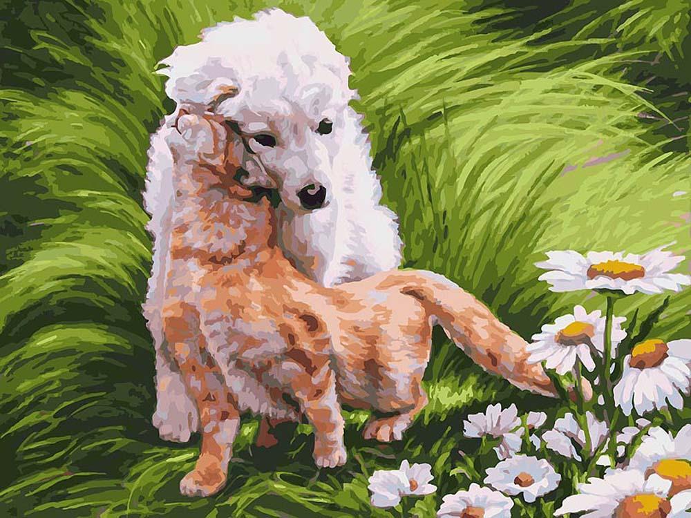 Картина по номерам «Обожание» Елены СамарскойРаскраски по номерам<br><br>