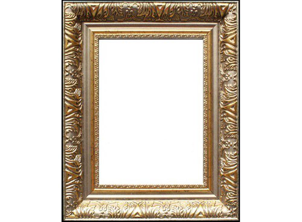 Рамка без стекла для картин «Delia»Багетные рамки<br>Для картин на картоне. В комплект входит: рамка, задняя подложка, крючок-вешалка. Стекло в комплект не входит. При необходимости приобретайте стекло отдельно.<br><br>Артикул: 9028-16-0728<br>Размер: 40x50 см<br>Цвет: Золото<br>Ширина: 51<br>Материал багета: Пластик<br>Глубина багета: 7 мм