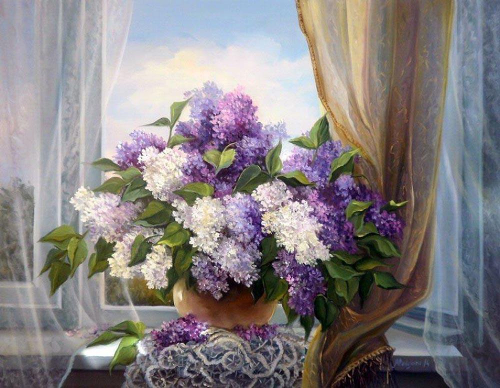 «В ветренный день» Анки БулгаруPaintboy (Premium)<br><br><br>Артикул: gx8260<br>Основа: Холст<br>Сложность: средние<br>Размер: 40x50 см<br>Количество цветов: 26<br>Техника рисования: Без смешивания красок