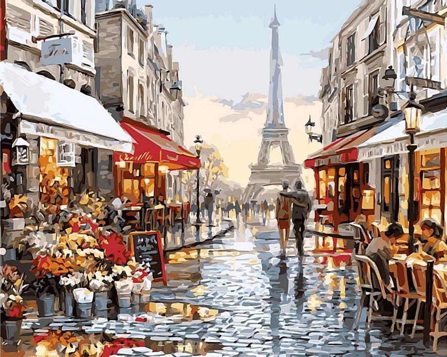 «Парижское обещание» Ричарда МакнейлаРаскраски по номерам Paintboy (Original)<br><br><br>Артикул: GX8090_R<br>Основа: Холст<br>Сложность: сложные<br>Размер: 40x50 см<br>Количество цветов: 28<br>Техника рисования: Без смешивания красок