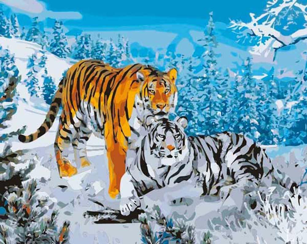 «Дикая природа»Menglei (Premium)<br><br><br>Артикул: MG194<br>Основа: Холст<br>Сложность: сложные<br>Размер: 40x50 см<br>Количество цветов: 30<br>Техника рисования: Без смешивания красок