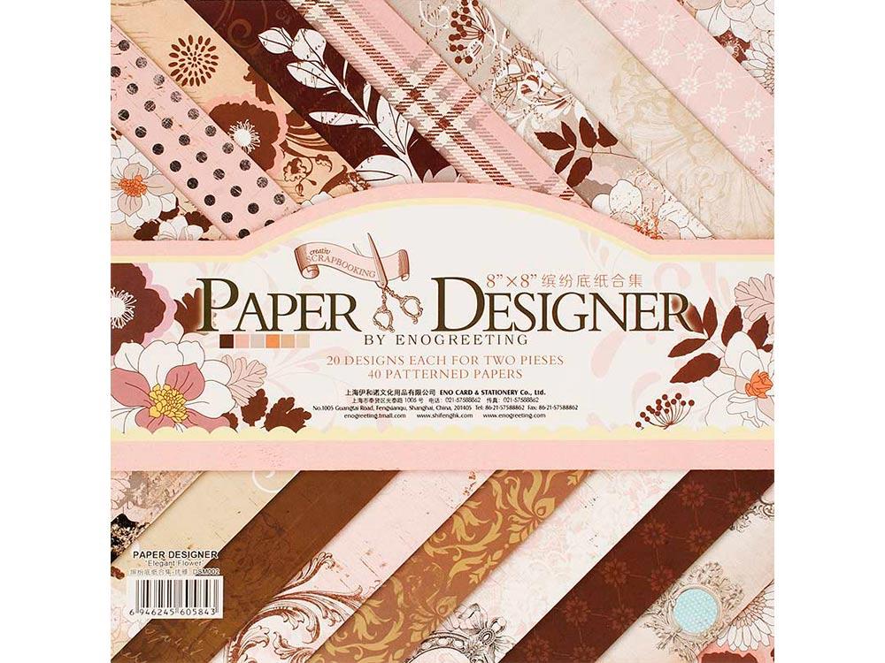 Набор бумаги «Волшебная страна»Бумага и материалы для скрапбукинга<br><br><br>Артикул: 003-SB<br>Размер: 20,3x20,3 см
