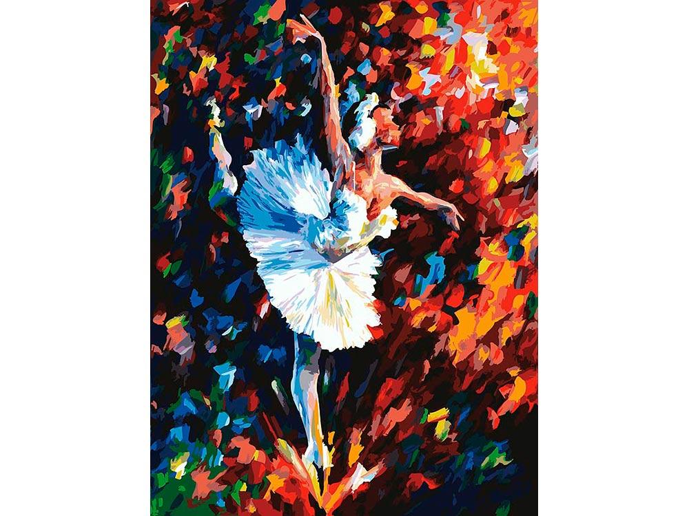 «Танец души» Леонида АфремоваКартины по номерам Белоснежка<br><br><br>Артикул: 031-AS<br>Основа: Холст<br>Сложность: очень сложные<br>Размер: 30x40<br>Количество цветов: 29<br>Техника рисования: Без смешивания красок