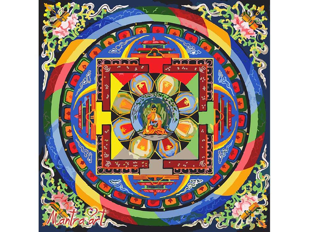 «Буддийская мандала»+в наборе подарокРаскраски по номерам Mantra Art<br>Производитель Mantra Art создал уникальные наборы картин по номерам, которые порадуют и безупречным качеством, и помогут погрузиться в тонкий внутренний мир. С их помощью легко избавиться от негатива - неизбежного побочного эффекта стрессовых ситуаций, и ...<br><br>Артикул: 2004<br>Основа: Холст<br>Сложность: сложные<br>Размер: 40x40<br>Количество цветов: 27<br>Техника рисования: Без смешивания красок