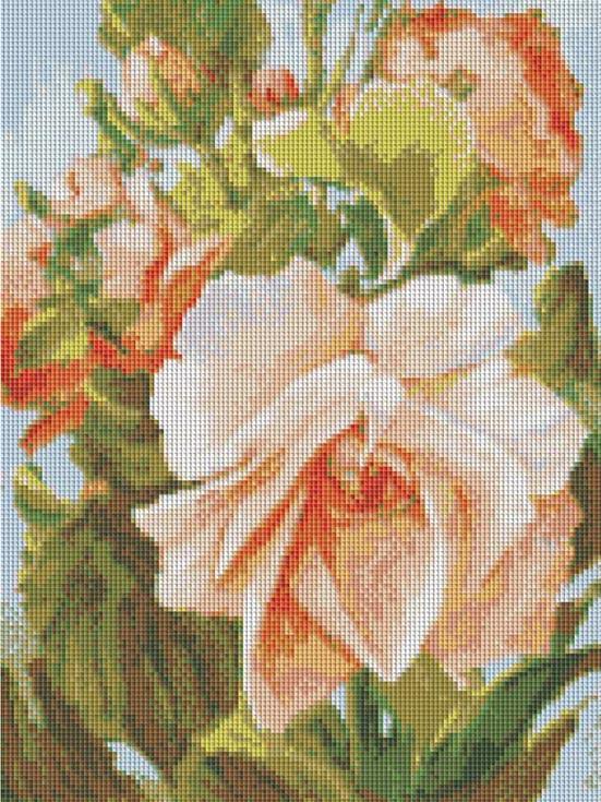 Алмазная вышивка «Роза» Антона ГорцевичаАлмазная вышивка фирмы Белоснежка<br><br><br>Артикул: 224-ST-S<br>Основа: Холст на подрамнике<br>Размер: 30x40 см<br>Выкладка: Полная<br>Количество цветов: 20<br>Тип страз: Квадратные