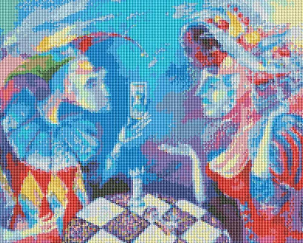 Стразы «Партия или вся жизнь игра» Лианы МоисеевойАлмазная вышивка фирмы Белоснежка<br><br><br>Артикул: 231-ST<br>Основа: Холст без подрамника<br>Размер: 49x39 см<br>Выкладка: Полная<br>Тип страз: Квадратные