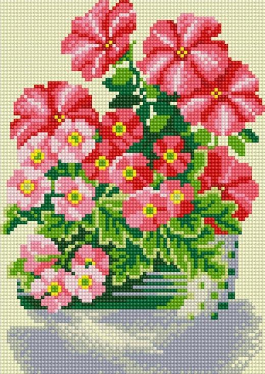 Стразы «Милые цветы»Алмазная вышивка фирмы Белоснежка<br><br><br>Артикул: 290-ST-S<br>Основа: Холст на подрамнике<br>Размер: 20x30 см<br>Выкладка: Полная<br>Количество цветов: 14<br>Тип страз: Квадратные