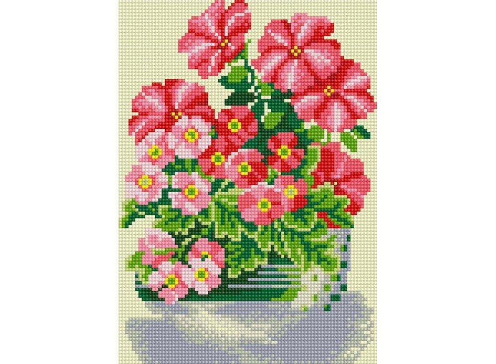 Стразы «Милые цветы»Алмазная вышивка фирмы Белоснежка<br><br><br>Артикул: 290-ST-S<br>Основа: Холст на подрамнике<br>Размер: 20x30<br>Выкладка: Полная<br>Количество цветов: 14<br>Тип страз: Квадратные
