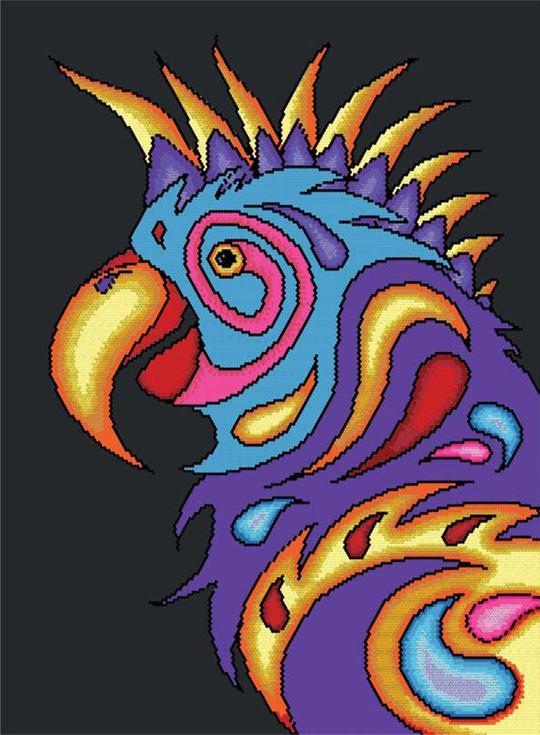 Стразы «Попугай»Алмазная вышивка фирмы Белоснежка<br><br><br>Артикул: 400-RS<br>Основа: Холст без подрамника<br>Размер: 53x72 см<br>Выкладка: Частичная<br>Количество цветов: 20<br>Тип страз: Круглые прозрачные (стеклянные)