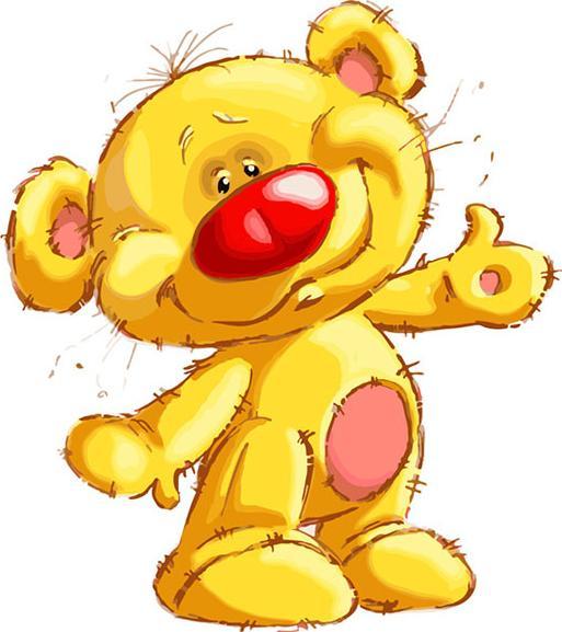 «Привет Медвед» Сергея ПалияКартины по номерам Белоснежка<br><br><br>Артикул: 763-AS<br>Основа: Холст<br>Сложность: очень сложные<br>Размер: 30x40 см<br>Количество цветов: 25<br>Техника рисования: Без смешивания красок