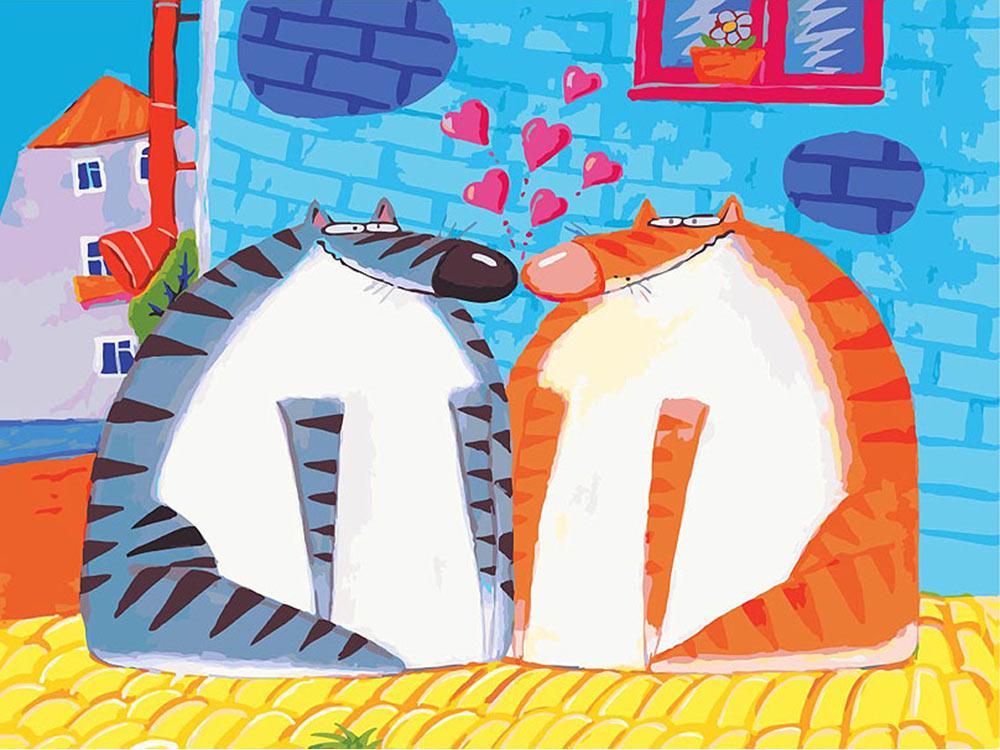 Картина по номерам «Свидание» Романа УрбинскогоКартины по номерам Белоснежка<br><br><br>Артикул: 775-AS<br>Основа: Холст<br>Сложность: очень сложные<br>Размер: 30x40 см<br>Количество цветов: 35<br>Техника рисования: Без смешивания красок