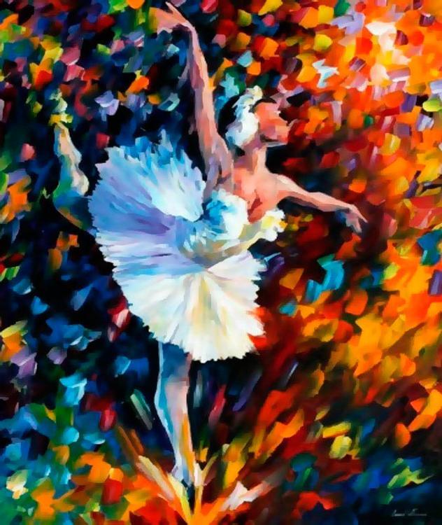 Картина по номерам «Танец души» Леонида АфремоваКартины по номерам Белоснежка<br><br>