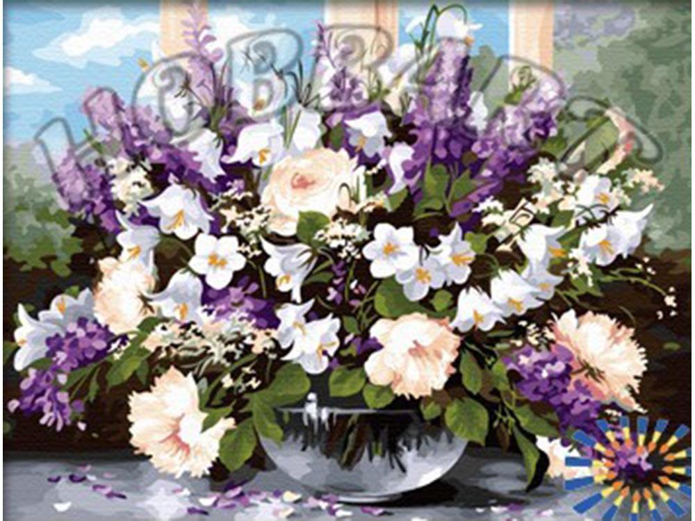 Картина по номерам «Букет полевых цветов» Хайнца ШольнхаммераHobbart<br><br><br>Артикул: DZ4050006<br>Основа: Холст<br>Сложность: очень сложные<br>Размер: 40x50 см<br>Количество цветов: 36<br>Техника рисования: Без смешивания красок