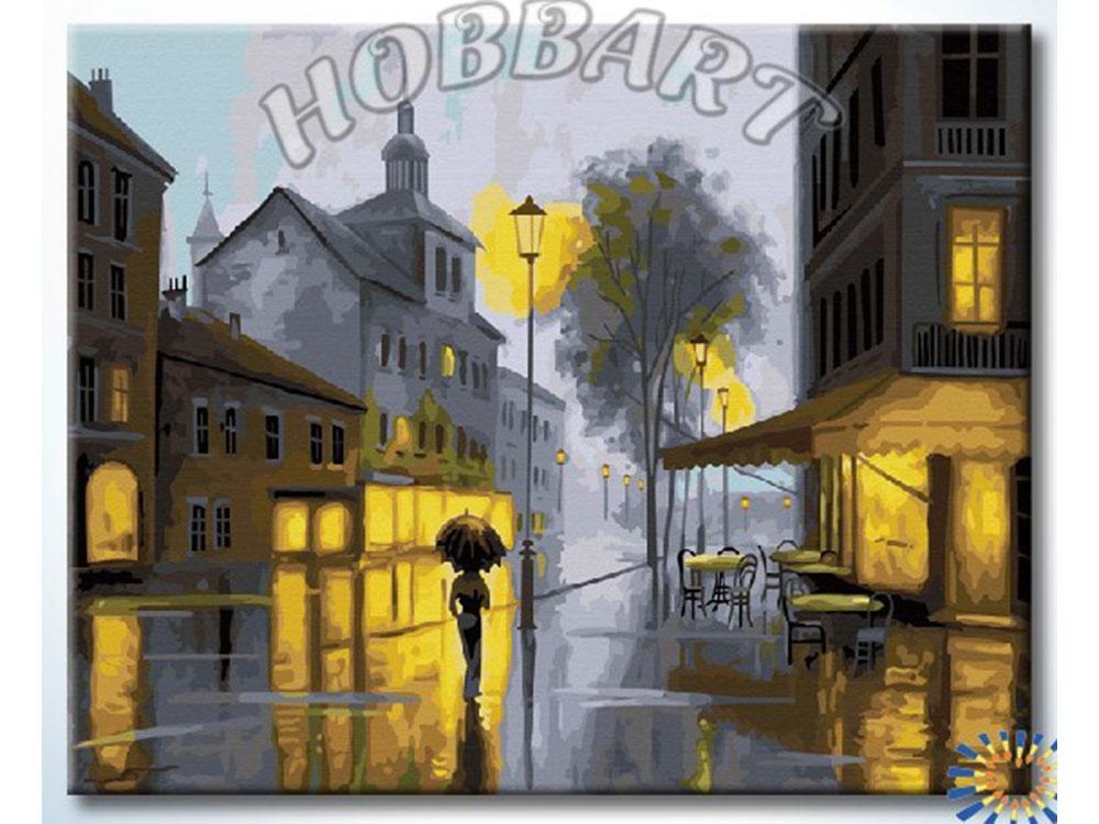 Картина по номерам «В свете фонарей»Hobbart<br><br><br>Артикул: DZ4050021<br>Основа: Холст<br>Сложность: средние<br>Размер: 40x50 см<br>Количество цветов: 29<br>Техника рисования: Без смешивания красок