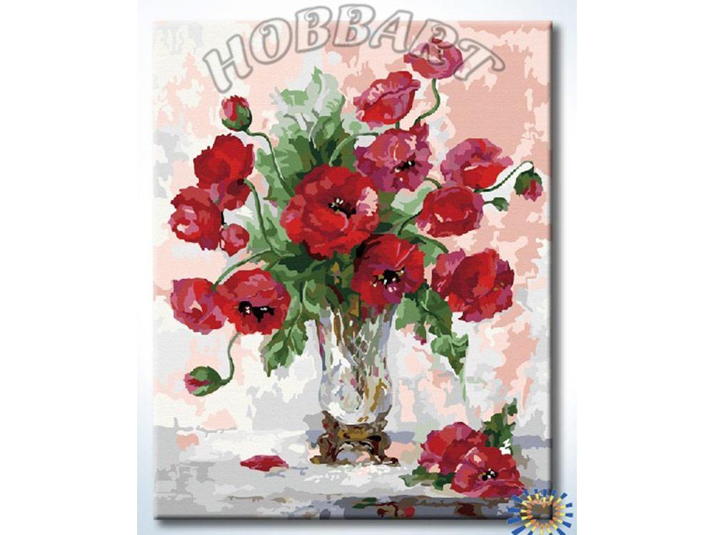 Картина по номерам «Маковая»Hobbart<br><br><br>Артикул: DZ4050022<br>Основа: Холст<br>Сложность: сложные<br>Размер: 40x50 см<br>Количество цветов: 35<br>Техника рисования: Без смешивания красок