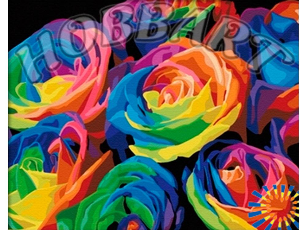 «Радуга»Hobbart<br><br><br>Артикул: HB4050003<br>Основа: Холст<br>Сложность: средние<br>Размер: 40x50 см<br>Количество цветов: 29<br>Техника рисовани: Без смешивани красок