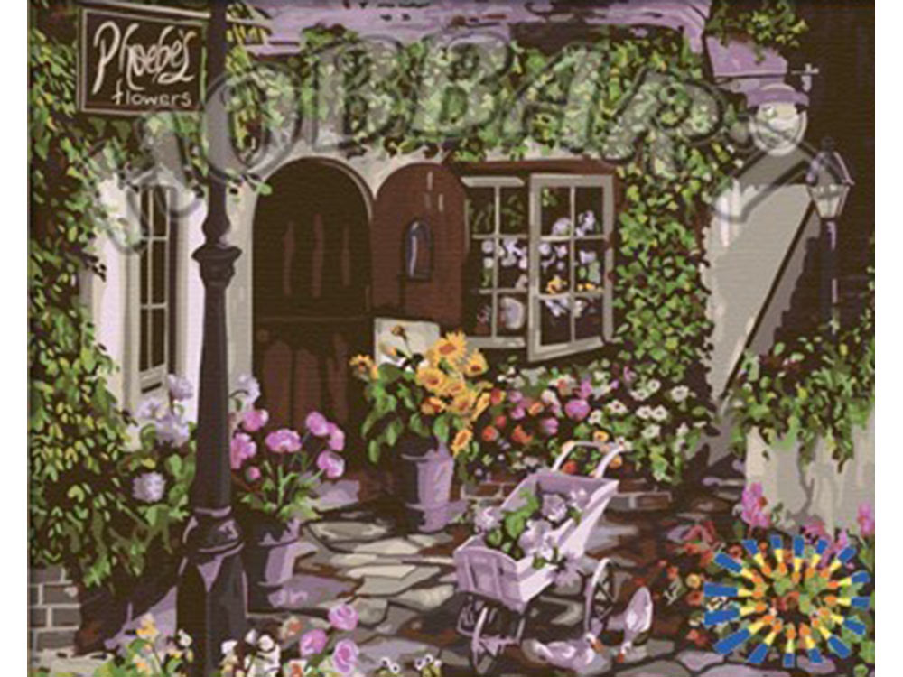 «В гостях у цветовода» Сьюзан РиосHobbart<br><br><br>Артикул: HB4050047<br>Основа: Холст<br>Сложность: очень сложные<br>Размер: 40x50 см<br>Количество цветов: 28<br>Техника рисования: Без смешивания красок